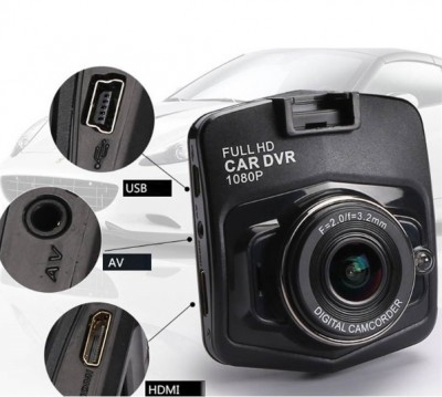 Foto Dashcam zwart Full HD 1080P