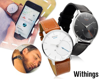 Foto Stijlvolle withings activité sapphire smartwatch