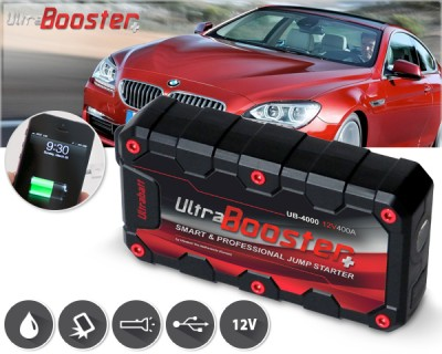 Afbeelding Ultrabatt ultrabooster+ jumpstarter + powerbank in 1