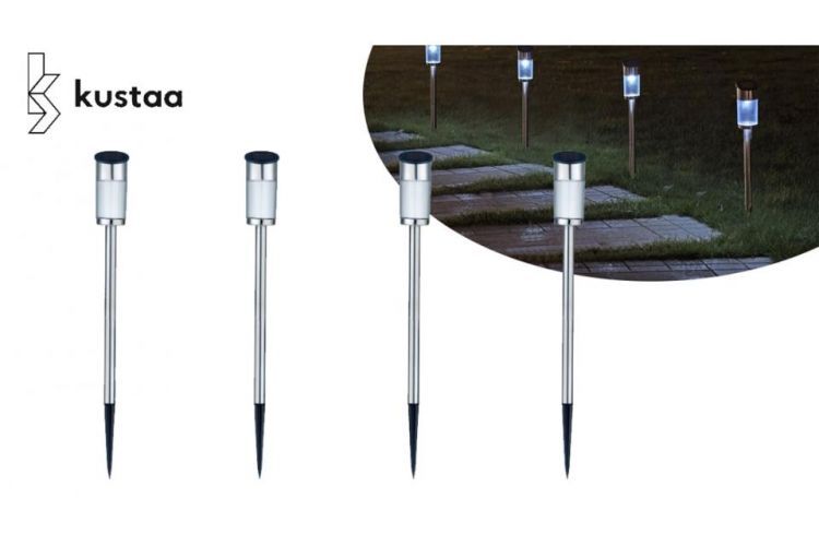 4- Of 6-Delige Solar LED Tuinlampenset afbeelding