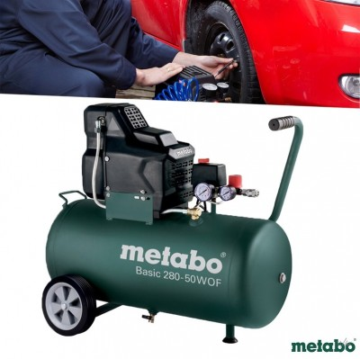 Foto Metabo Compressor Basic 280-50W OF