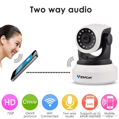 Foto WiFi IP 720p Camera 2-Way Audio & Babycam & Night Vision