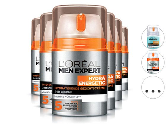 Foto 6x L'Oréal Skincare for Men