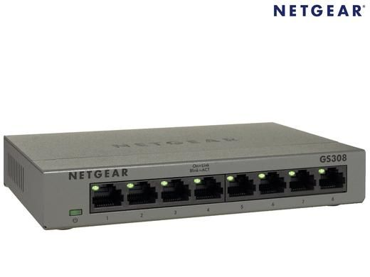 Foto Netgear 8-Poorts Gigabit Ethernet Switch