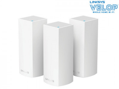 Foto Linksys Velop Tri-band Mesh Systeem