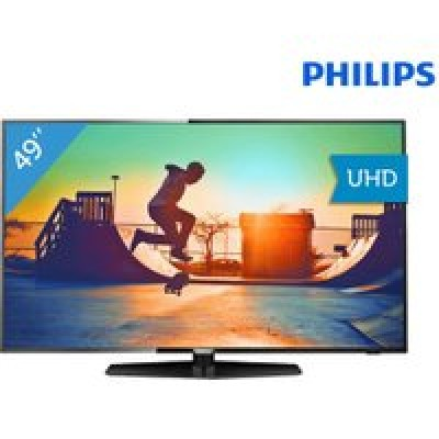 Foto Philips 4K Smart Ultra HD 49''