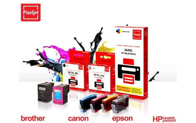 Foto Pixeljet Printer Cartridges