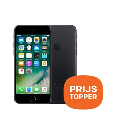 Foto Apple iPhone 7 32GB Black - prijs topper