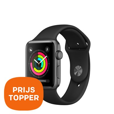 Foto Apple Smartwatch Series 3 Aluminium 42mm - prijstopper