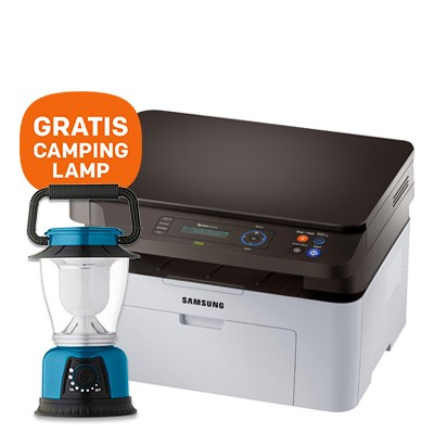 Foto HP Xpress SL-M2070 Multifunctionele laserprinter - GRATIS camping lamp