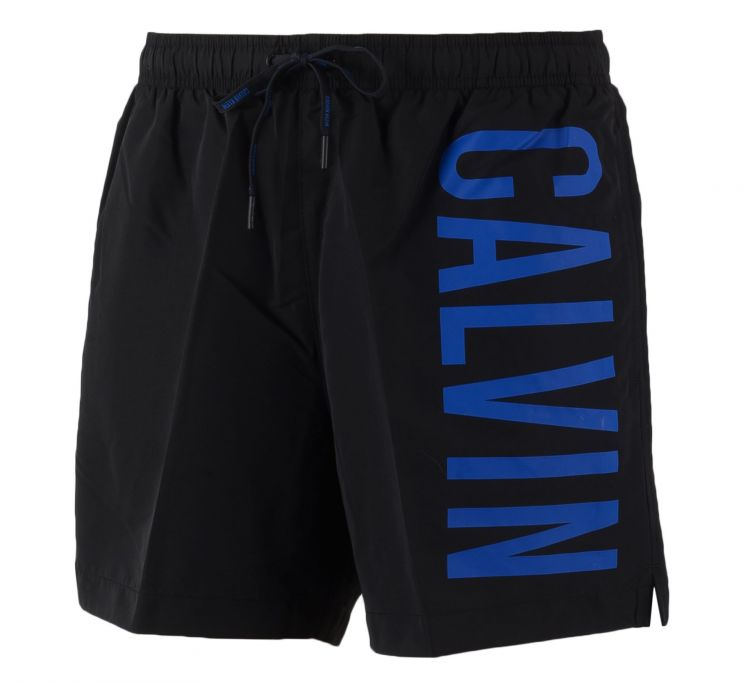 Foto Calvin Klein Medium Drawstring Vertical Logo Swim Shorts