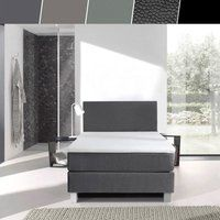 Foto Luxe 1-persoons boxspringset 90x200 cm