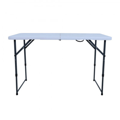 Foto Royal Patio campingtafel Mellum wit - 120x50 cm