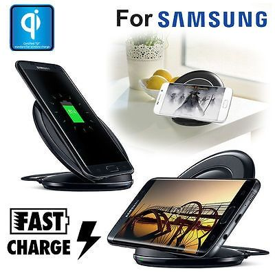 Foto Fastcharge QI Draadloze oplader voor je Samsung S7 Edge S6 Edge Plus Note 5