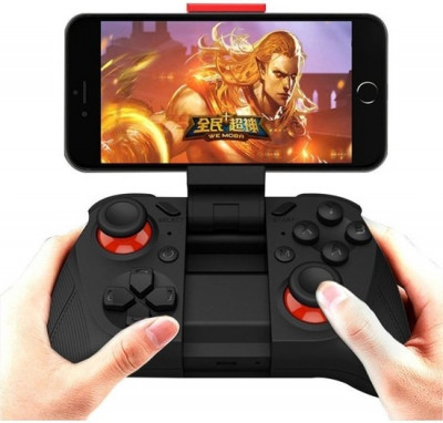 Foto Draadloze Bluetooth iOS, Android Gamepad - Joystick voor Smartphone, Tablet, TV en PC