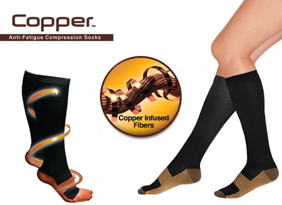 Foto Copper Compressiesokken