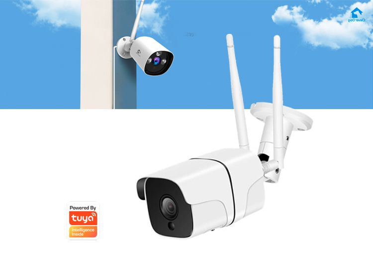 Foto Denver SHO-110 Outdoor Wifi/IP camera met luidspreker