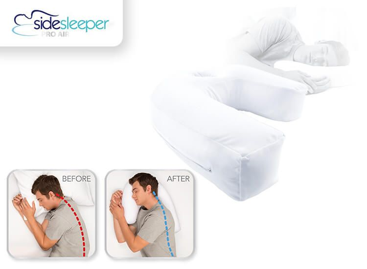 Foto Side Sleeper Pro Air kussen - zijslaper kussen