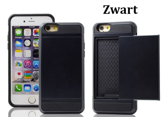 Foto Smartphone Wallet Case voor iPhone & Samsung (in 7 kleuren)