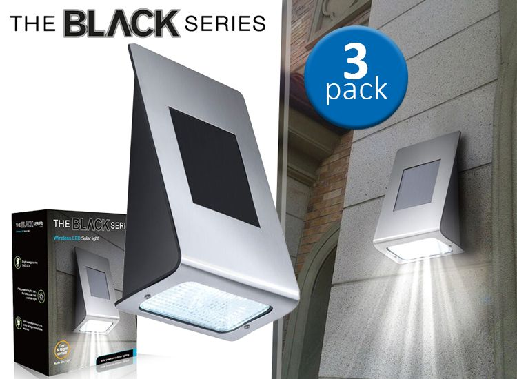Foto The Black Series - Led solar light - 3-pack