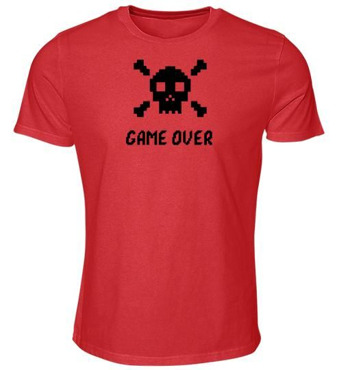 Foto Shirt: GAME OVER