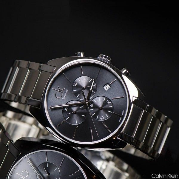 Foto Calvin Klein 'Swiss Made' Exchange Chronographs
