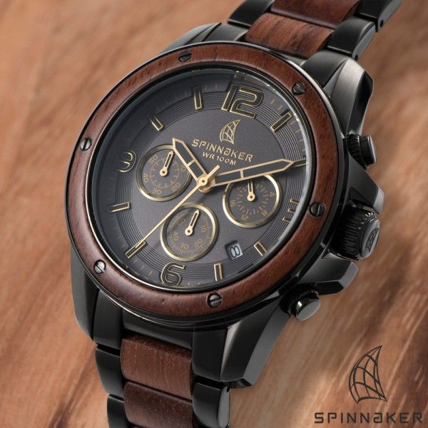 Foto Spinnaker Vessel Wood Chronograph SP-5027-44