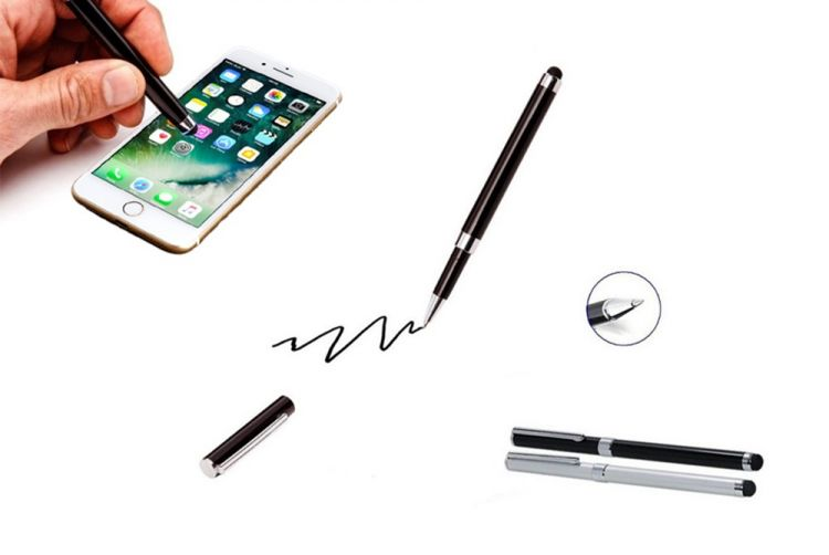 Foto Set van 4 luxe 2-in-1 Stylus Touch-Pennen