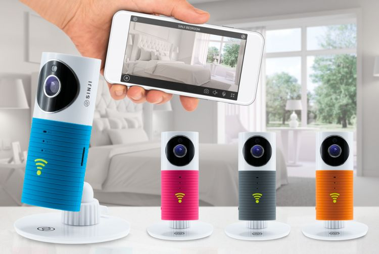 Foto Sinji Indoor Smart WiFi-camera met babyfoon