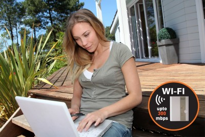 Foto Quintezz Homeline WiFi Repeater 300 Mbps
