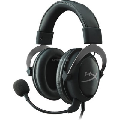 Foto HyperX Cloud II Gun metal, 7.1 virtual surround