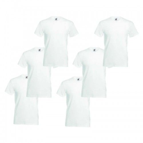 Fruit of the Loom T-shirt (6-pack) afbeelding