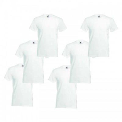 Foto Fruit of the Loom T-shirt (6-pack)