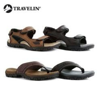 Foto Outdoor slippers of sandalen