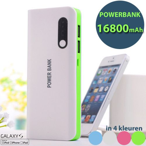 Foto 16800mAh Dual USB Powerbank