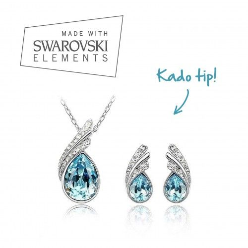 Foto Swarovski Elements gift set - sea blue