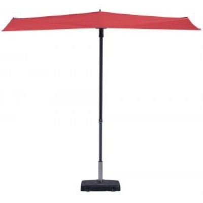 Foto Madison parasol / windscherm Sun Wave rood