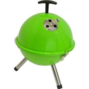 Foto Tafelbarbecue rond groen