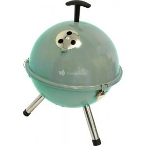 Foto Tafelbarbecue rond turquoise