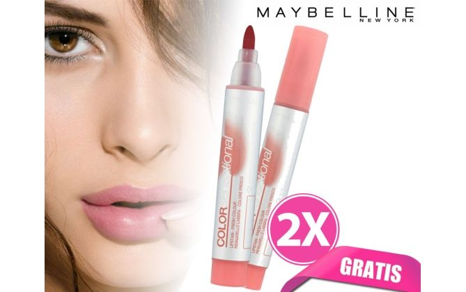 Foto 2x Maybelline Color Sensational Lipstain (GRATIS)