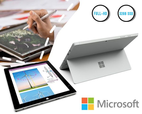 Foto MICROSOFT SURFACE 3 | 2GB RAM | 32GB SSD | WINDOWS 8.1