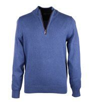 Foto Suitable Trui Zipper Blauw