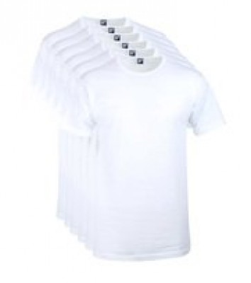 Foto Alan Red Aanbieding Derby O-Hals T-shirts Wit (6Pack)