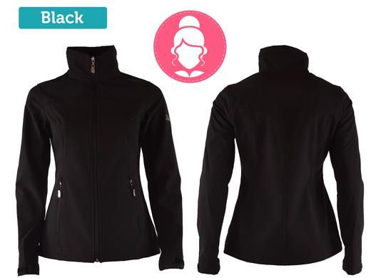 Foto Falcon softshell jack - dames of heren