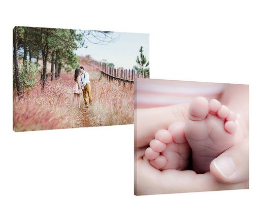 Foto Voucher: Canvas 50 x 50 of 60 x 40 cm