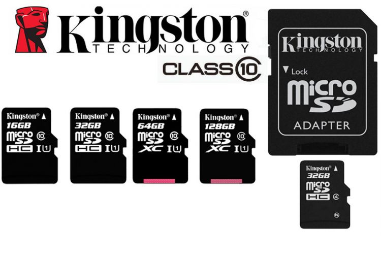 Foto Kingston SD-kaarten | 16GB, 32GB, 64GB en 128GB