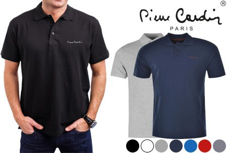 Foto Pierre Cardin heren polo's nu in de aanbieding