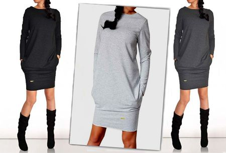 Foto Sweater dress, shop de jurk nu met korting.