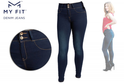 Foto 40% korting: Denim Look legging