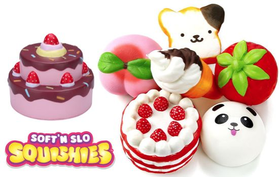 Foto Squishy Mix Pakket 10st